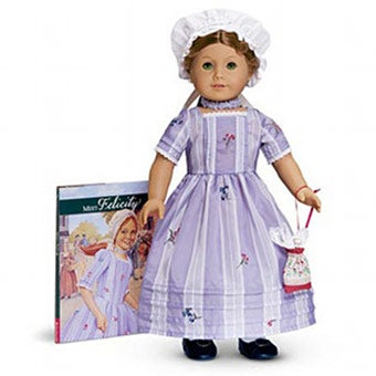 Felicity Doll Loses The American (Girl) Revolution