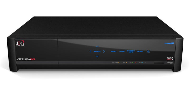 Dish Network ViP 922 1-Terabyte HD-DVR Comes SlingLoaded