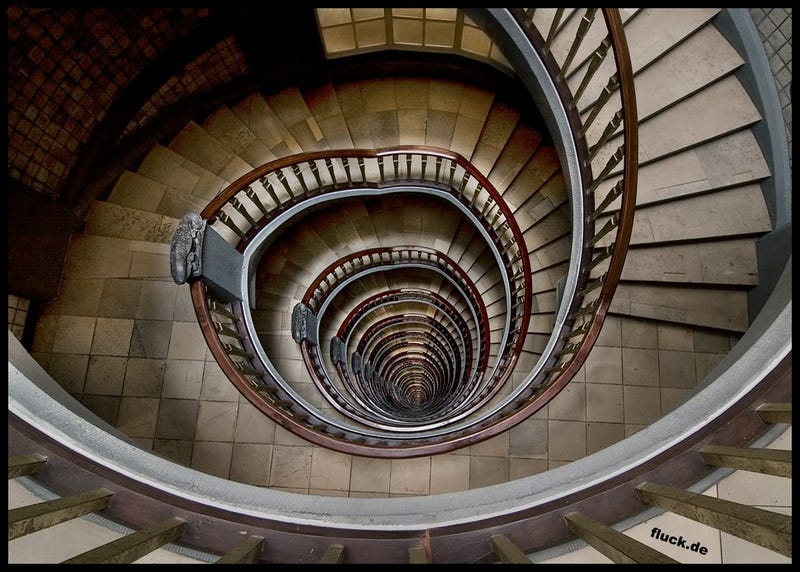 The bottomless staircase that became a tourist attraction