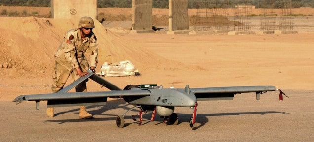 The Military Wants to Turn Its Drones into Flying Wi-Fi Hotspots