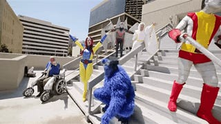 An Army Of X-Men Cosplayers