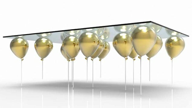 Floating Balloon Coffee Table Is a Whimsical Way To Get Sued By Disney