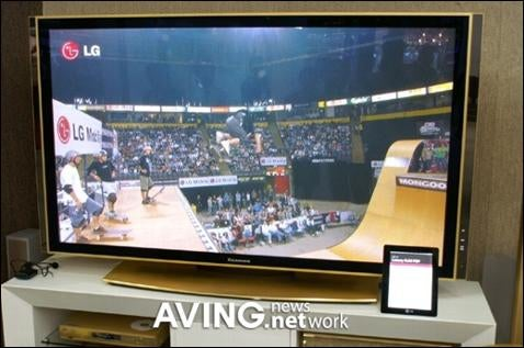 LG Gives TV the Midas Touch