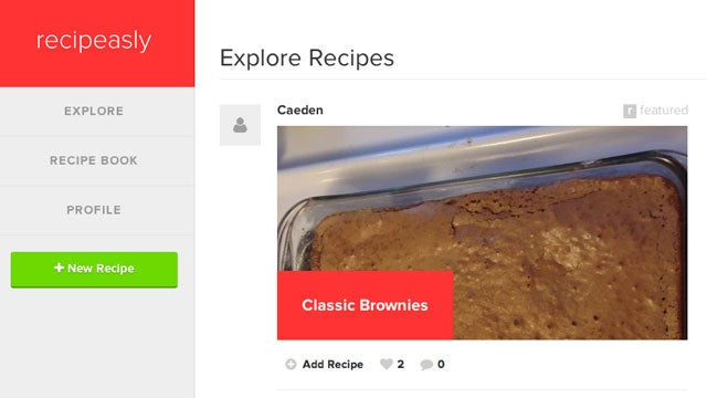 Recipeasly Cuts the Crap Out of Recipe Management