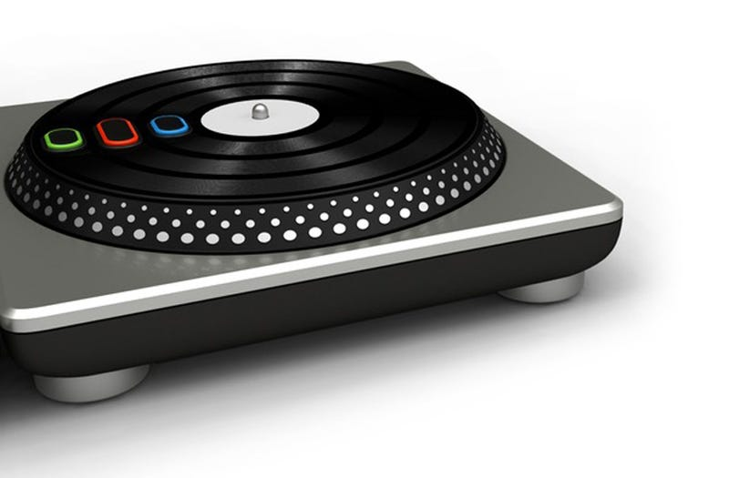 First Look at the DJ Hero Turntable Controller