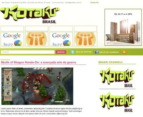 Tall And Tan and Young and Lovely, The Kotaku From Ipanema Is Coming