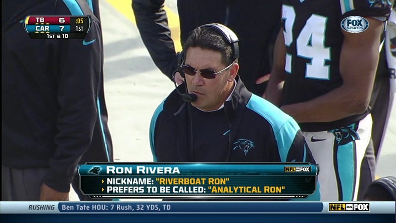 You Can't Give Yourself A Nickname, Ron Rivera