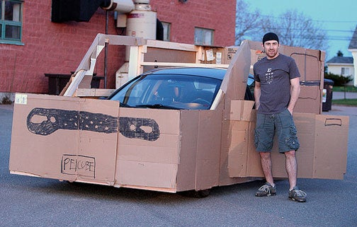 Canadian Cardboard Cube As Functional As Real Nissan