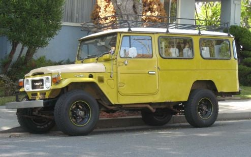 Toyota Land Cruiser Troop Carrier