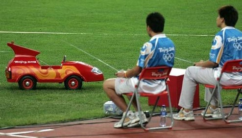RC Cars Are the Javelin Errand Boys of the 2008 Beijing Summer Olympics