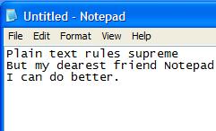 Best Text Editor?