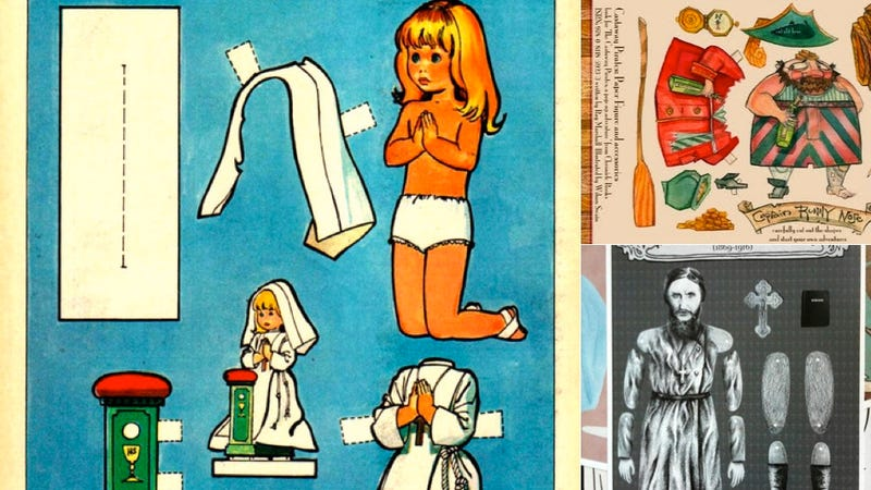 The Children's Treasury of Creepy Paper Dolls