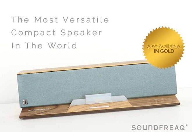 Soundfreaq's Blinged-Out Bluetooth Speaker is 34% Off