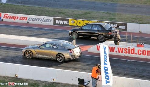 Haltech-Tuned 2009 Nissan GT-R Gives A Down Under Strip Show, Bests Inside Line's Quarter-Mile