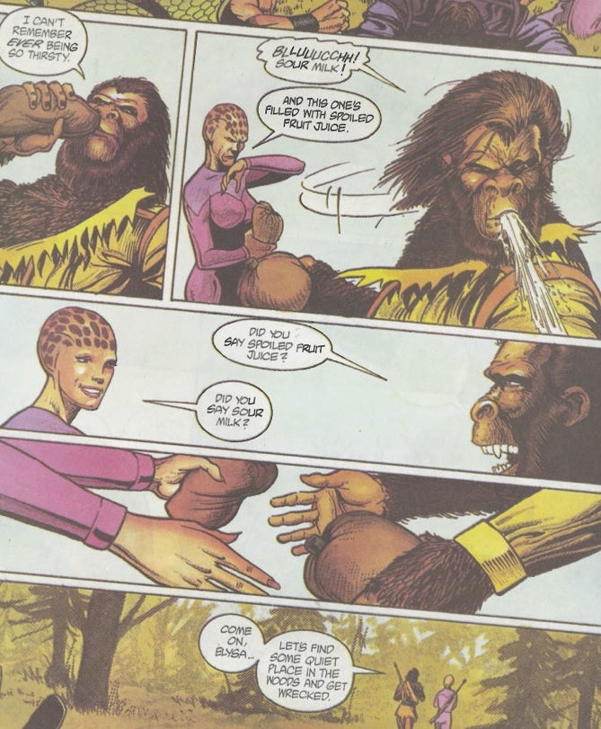 The Insane 1991 Alien Nation Versus Planet of the Apes Comic Book Nobody Remembers