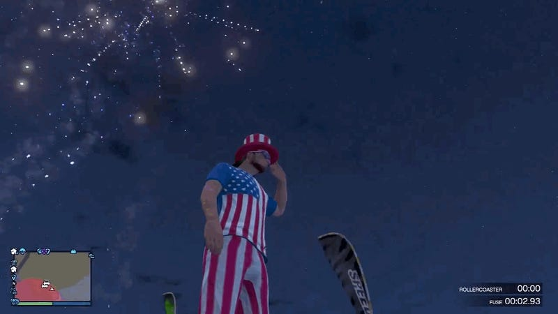 In GTA Online, Today Is Basically 'America, F*** Yeah' Day