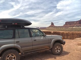 The White Rim and How to Become an Auto Journalist