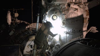 Cosmonauts Chuck Equipment Off The Station In Third October Spacewalk