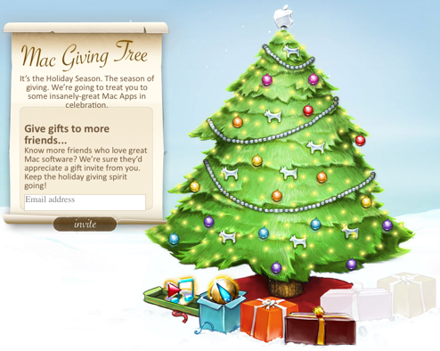 Mac Giving Tree Hands Out Premium Mac Software for Free