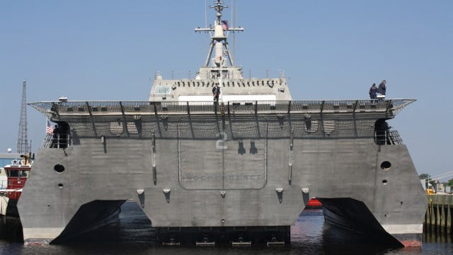 Builder Blames Navy as Brand-New Warship Disintegrates