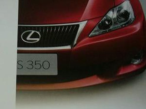 2009 Lexus IS Facelift Brochure Scans Leaked