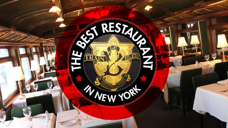 The Best Restaurant in New York Is Le Train Bleu in Bloomingdale's