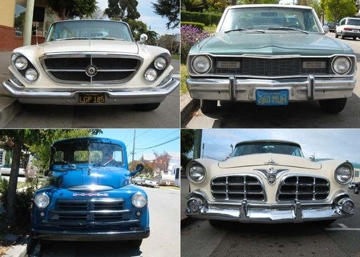 Celebrating 450 Old Vehicles Down On The Alameda Street: Chrysler Corporation