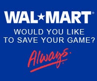 Walmart Suggests Cardboard Packaging, Save Games