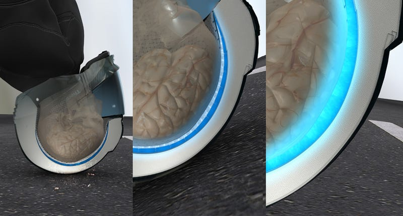 ThermaHelm: Helmet Cools Biker's Brains In Case of Accident
