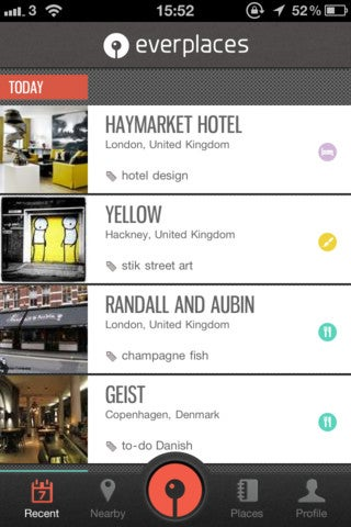 Everplaces App Gallery