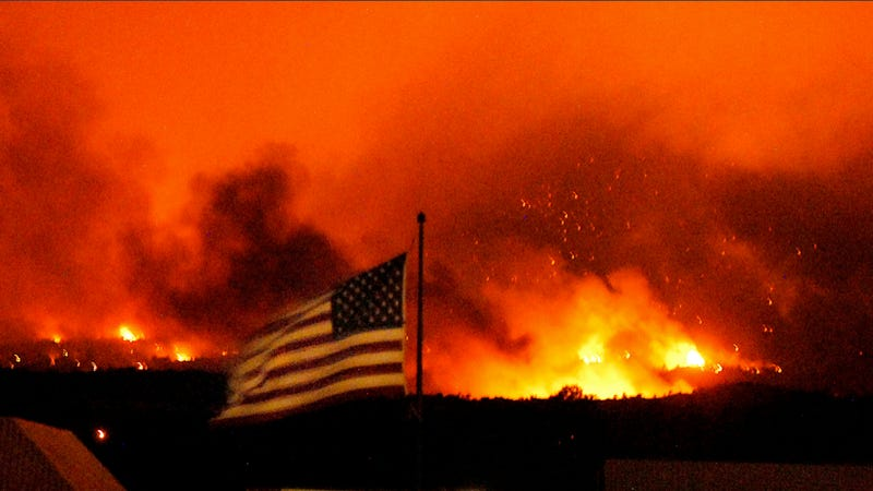 Colorado Wildfires Will Probably Postpone This Year's Pikes Peak Hill Climb