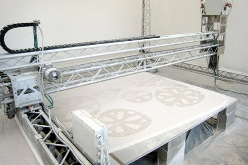 Non-Enclosed 3D Printer Can Build Houses