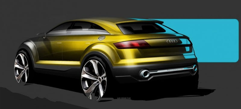 Is This What The Audi Q4 Crossover Will Look Like?