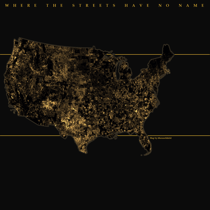 This U.S. Map Shows the Millions of Streets That Have No Name