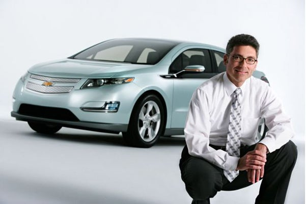 Chevy Volt Plug-in Hybrid Revealed Early