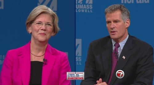Elizabeth Warren Is Pulling Ahead of Scott Brown and Can Hardly Stop Herself from Gloating