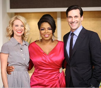 Oprah Meets Mad Men