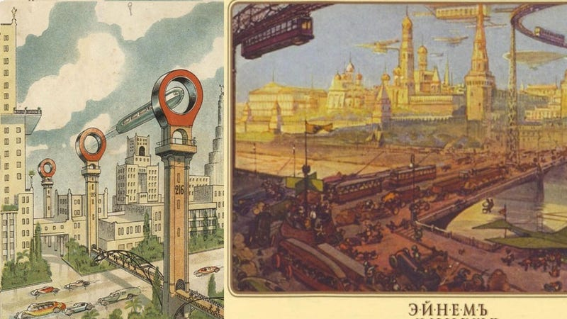 Here are the most futuristic European cities that never existed