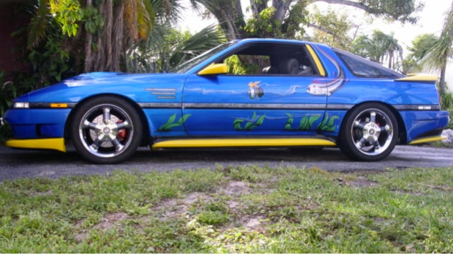 What's The World's Worst Custom Car Paint Job?