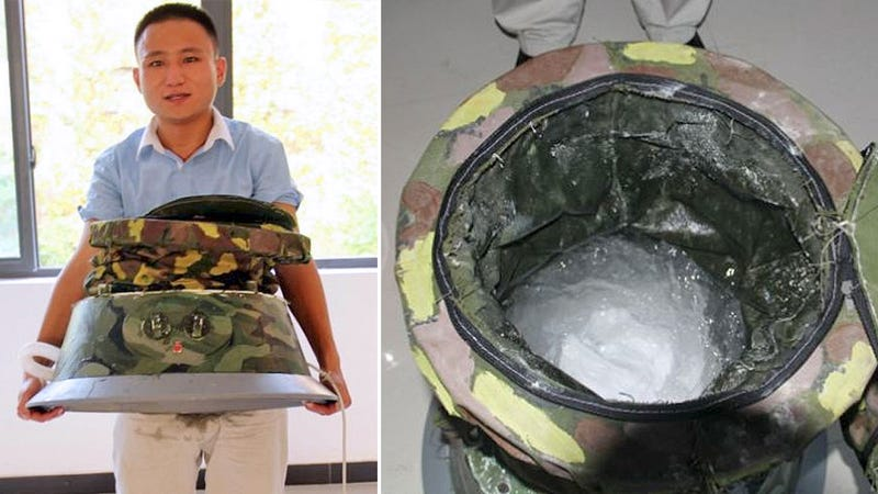 Student Builds Portable Washer So His Mom Can Do His Laundry Anywhere