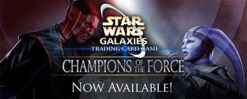SOE Launches SWG Online Trading Card Game