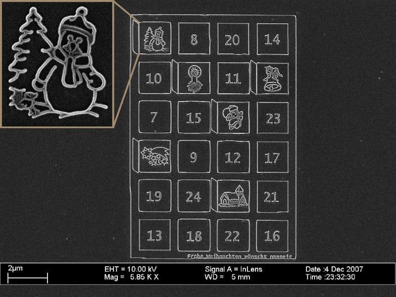 Teeny-Tiny Advent Calendar Has No Nano-Chocolates