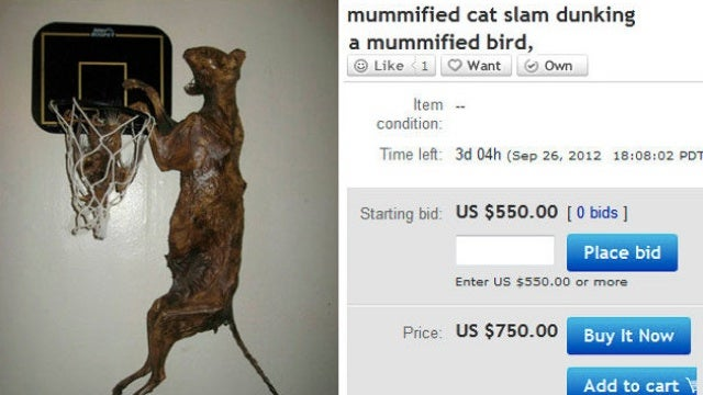 We all missed the greatest eBay auction of all time