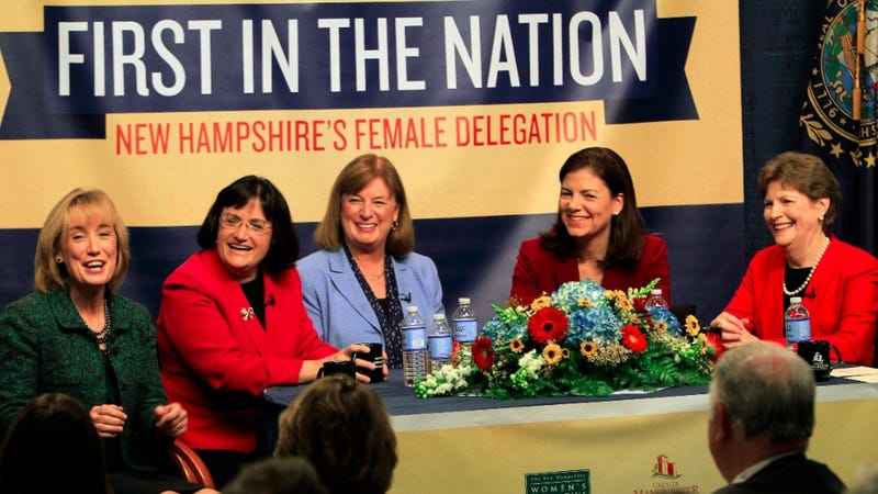 Is There Only A New Hampshire 'Matriarchy' Because the State's Legislators Make Barely Any Money?