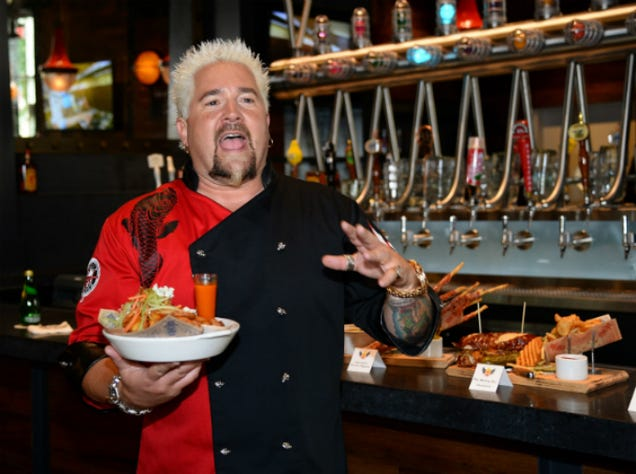 5 reasons why guy fieri might be cooler than anthony bourdain. Black Bedroom Furniture Sets. Home Design Ideas