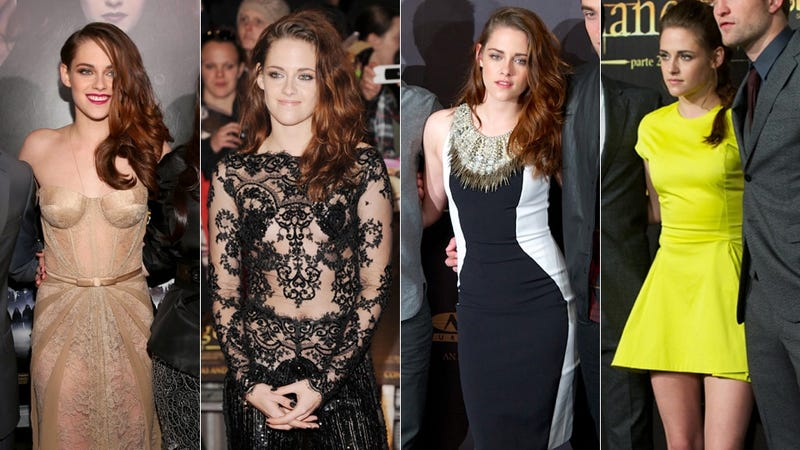 Kristen Stewart Loses Interest in Her Life: A Twilight Premiere Collage