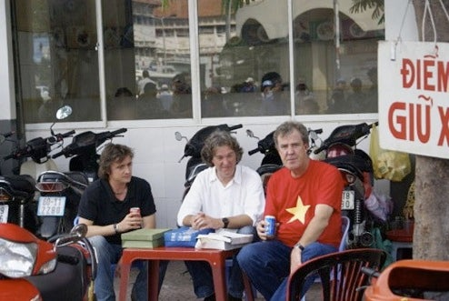 Top Gear Spotted Filming Episode In Vietnam