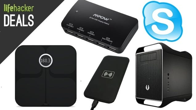 Wireless Charger Under $10, BitFenix Prodigy, Fitbit Wi-Fi Smart Scale