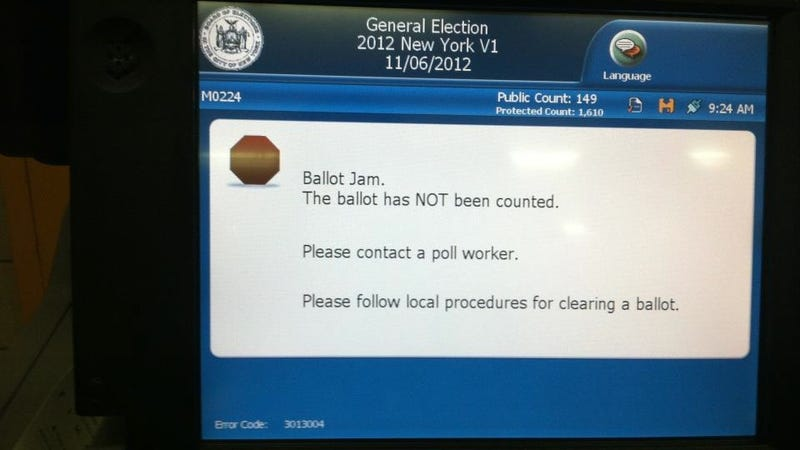 Have You Seen Any Voting Irregularities Today?