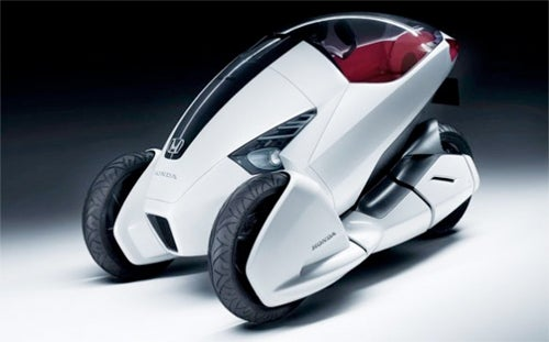 Honda's Eco-Friendly Trike of the Future